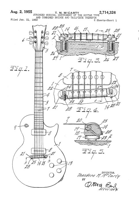 patents for music instruments