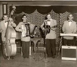 Bill haley, the Comets and the Accordion