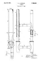Johnson Trombone Patent 1789589