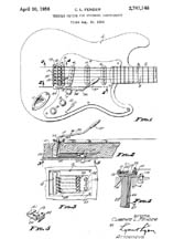 Whammy Bar Patent 2741146