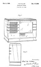 Wurlitzer Model 51 Design Patent D111598