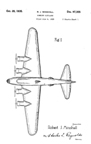 Boeing Model 294 Design Patent D-97,355