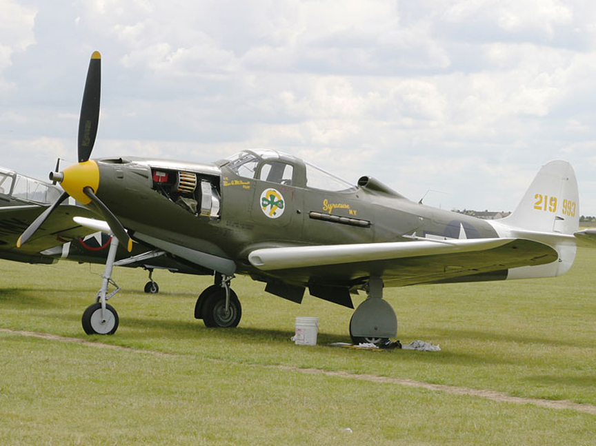 The Bell P-39 Airacobra P 39
