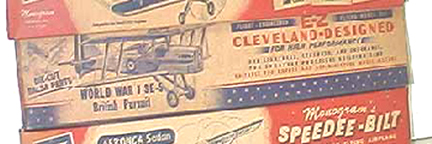 Cleveland model of the Royal Aircraft Factory SE-5