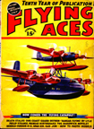 February 1938 issue of Flying Aces   with the Short-Mayo Composite on the cover
