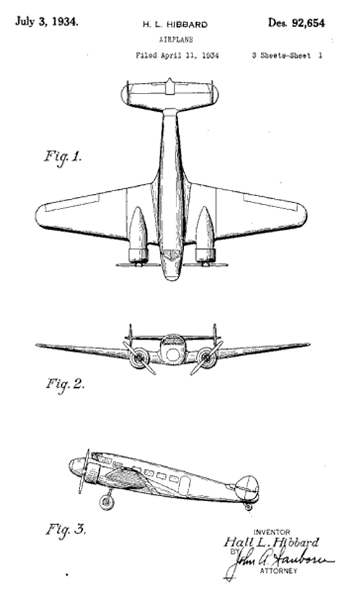 Electra Design survey of lockheed aircraft patents