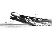 B-47 Using Rocket-Assisted Take-Off
