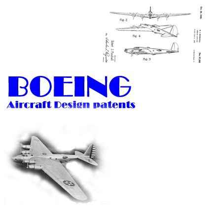Boeing Aircraft Patents