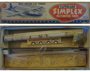 Cleveland Balsa Wood Kit for the B-45 Tornado