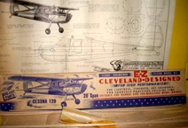 Cleveland Model of the Cessna Model 120 Private plane