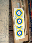 Cleveland Model Airplanes Hawker Hurricane