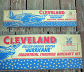 Cleveland Model Airplanes Hawker Hurricane special Industrial Training Box