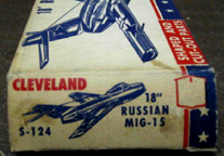 Cleveland Simplex Kit for the MiG-15