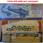 1950s Cleveland Model Airplanes Boeing P-26 Peashooter