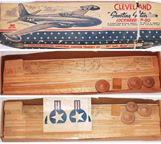 Cleveland Model of the Lockheed P-80 Shooting Star Jet Fighter