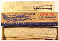 Cleveland model of the Grumman F9F Panther