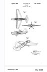 Curtiss SO2C Seamew  Observation landplane Design Patent D-137,610