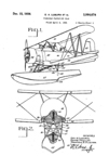 Curtiss Seagull SOC Patent No. 2,064,674