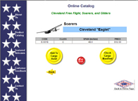 Eaglet Secondary Glider Plans on the Cleveland Website