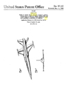 Lockheed F104 Starfighter Design Patent D-187,405
