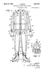 Electrically Heated Flying Suit Patent No. 2,277,772