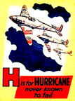 Cleveland Model Airplanes Hawker Hurricane From childrens book