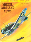 October 1959 Model Airplane News cover with SBD drawn by Jo Kotula