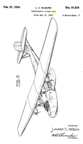 Martin Model 130 China Clipper Flying Boat Design Patent D-91,634