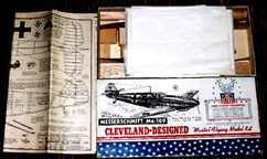 Cleveland Kit for the Messerschmitt Bf 109 Fighter