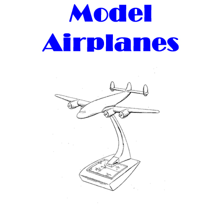Model Airplanes in the swing era