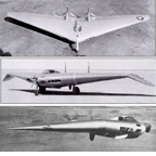 Northrop N1M Flying Wing in Flight