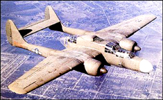 Northrop P-61 Black Widow Night Fighter