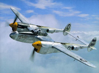 Lockheed P-38 Lightning Fighter