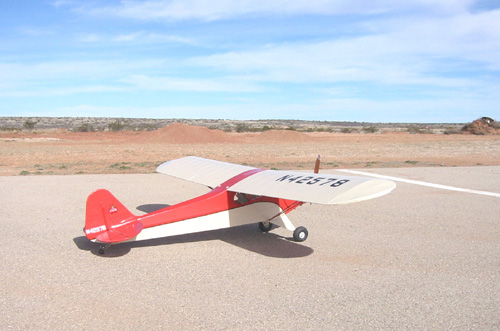 Frank's Radio-controlled Piper J-3
