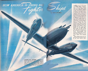 1942 Popular Science Article on American Fighters