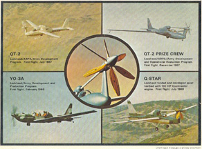 Evolution of the Lockheed QT-2 Q-Star Observation