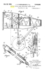 Wing and Landing Gear of the Douglas DC-2, Patent No. 2,049,066