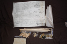 Cleveland Balsa Wood Kit for the B-47 Stratojet