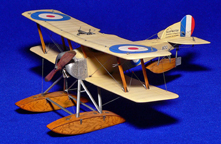 Model of the Sopwith Baby