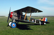Eddie Rickenbacker's SPAD S.VIII Fighter, restored