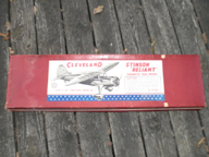 The Stinson Reliant  Cleveland Model Airplane Kit (1/6 Scale)