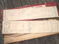 The Stinson Reliant Cleveland  Kit contents and plans