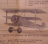 Cleveland Model of the Fokker Dr. I Triplane