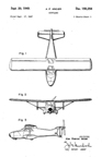 WACO Aristocraft  Design Patent D-155,256