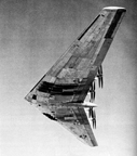 The XB-35 in Flight