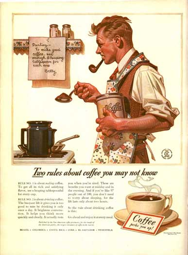 LIFE Magazine ad for BOKAR Coffee, Oct 6, 1941