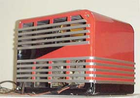 Rear of GE F-40 Radio