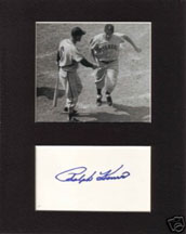 Ralph Kiner Autograph and Photo