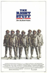 Theatrical Poster for the Right Stuff