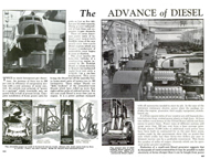 Advance of Diesels from Popular Mechanics June 1938